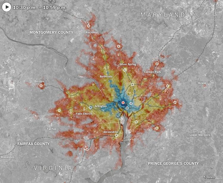 isochrone maps