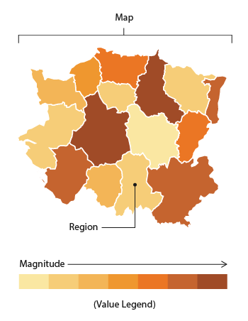 Choropleth Map - Learn about this chart and tools to create it
