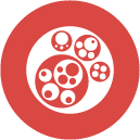 circle packing icon