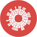 Sunburst Diagram Icon